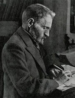 Eliezer Ben Yehuda, the 'father' of Modern Hebrew, who worked tirelessly to transform Hebrew into a language once again used for everyday conversation
