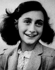 Anne Frank, photographed in 1942 shortly before her 13th birthday
