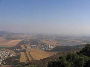 The Jezreel Valley in Israel