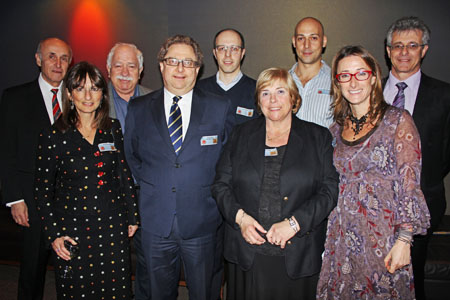 Members of the BJE Board of Management together with Joint CEOs Robert Greenfield and Rachele Schonberger.