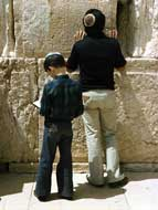 Jews pray three times a day, though spontaneous prayer may be offered at any time. God accepts prayer in any language, but the official language of Jewish prayer is Hebrew