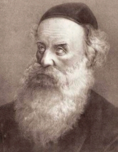 Shneur Zalman of Liadi, the first Lubavitcher Rebbe and founder of Lubavitch Chassidism