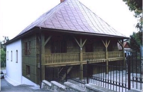 A typical old-style Polish synagogue.