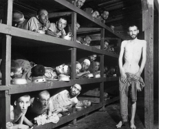 Elie Wiesel was among survivors of the Buchenwald concetration camp at war's end