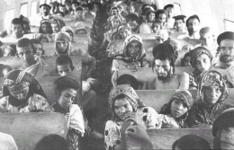 In 1949-50 almost the entire Jewish population of Yemen moved to Israel as part of Operation Magic Carpet