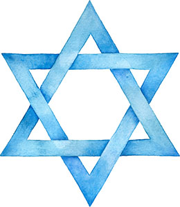 Magen David ('Star' of David) 1