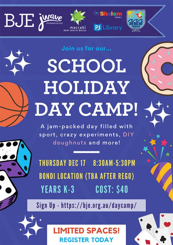 Day Camp for Years K-3 1