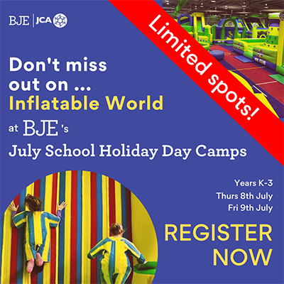 July Day Camp for Years K-3 1