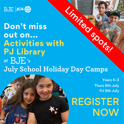 July Day Camp for Years K-3 3