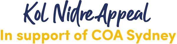 Kol Nidre Appeal in support of COA Sydney